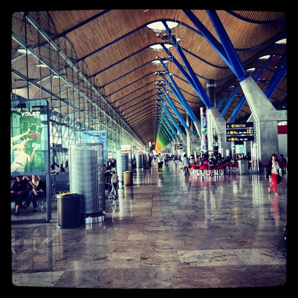 Architecture at Madrid's Barajas Airport