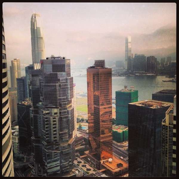 Good morning Hong Kong!