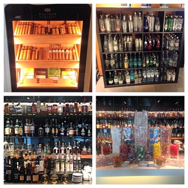 The excesses of the LH FCT: a humidor of cigars, a never ending liquor supply, lolly towers and... a water bar?!